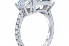 Trapezoid-Three-Stone-Engagement-Ring-with-Pave-Band-Side