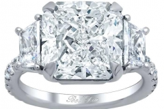 Trapezoid-Three-Stone-Engagement-Ring-with-Pave-Band